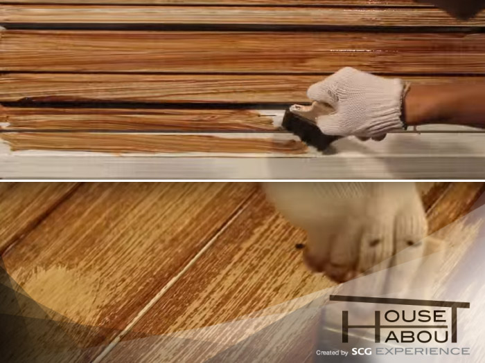 How to SCG wood plank as old wood style