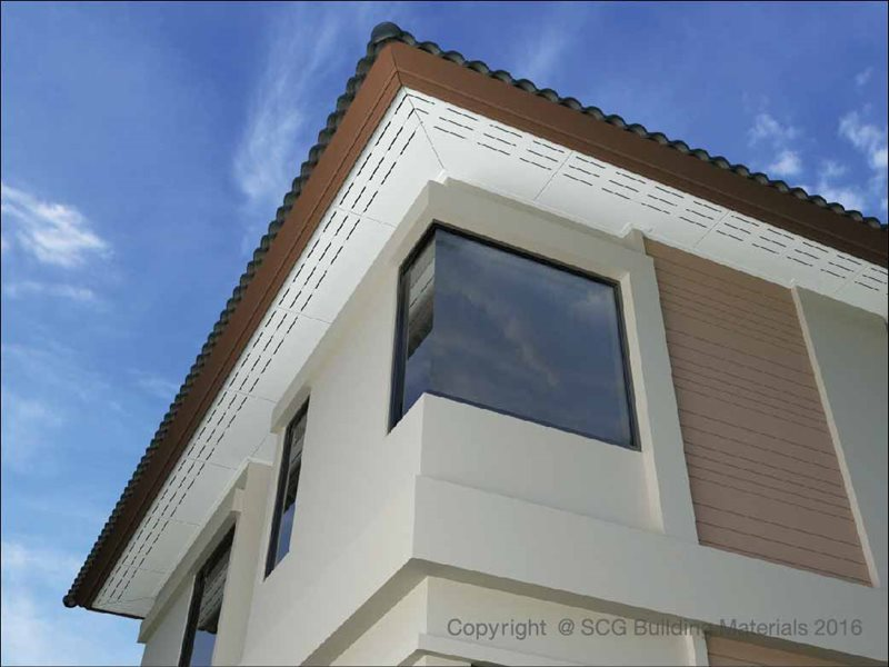 SCG Fiber Cement Board for ceiling application
