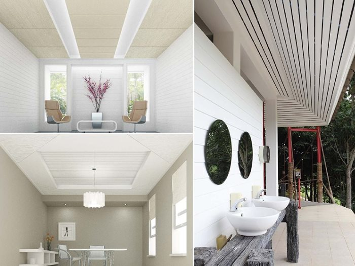 Ceiling Decoration Idea by SCG