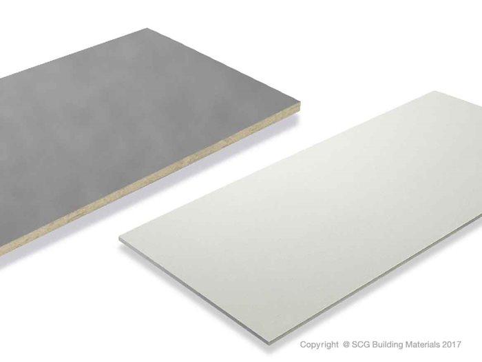Fiber cement board and wood cement board