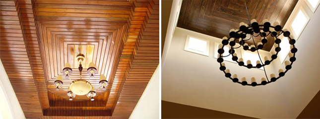 Wood Ceiling Decoration