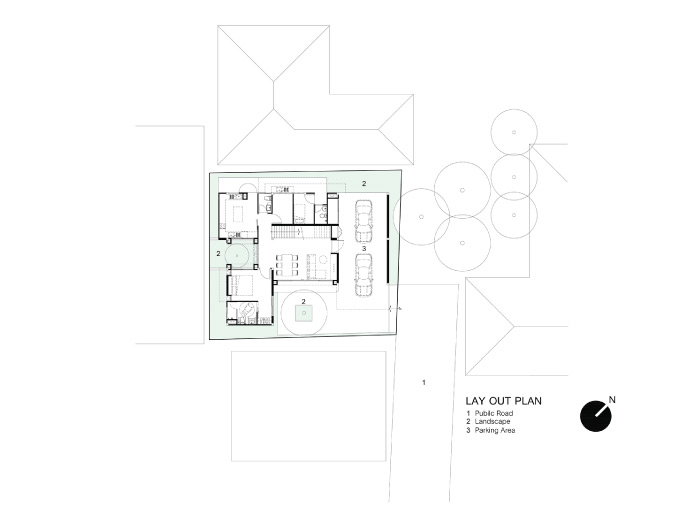 Small house plan idea