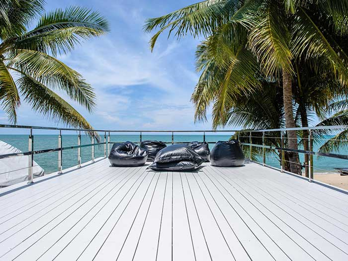 SCG Smartwood balcony wood plank
