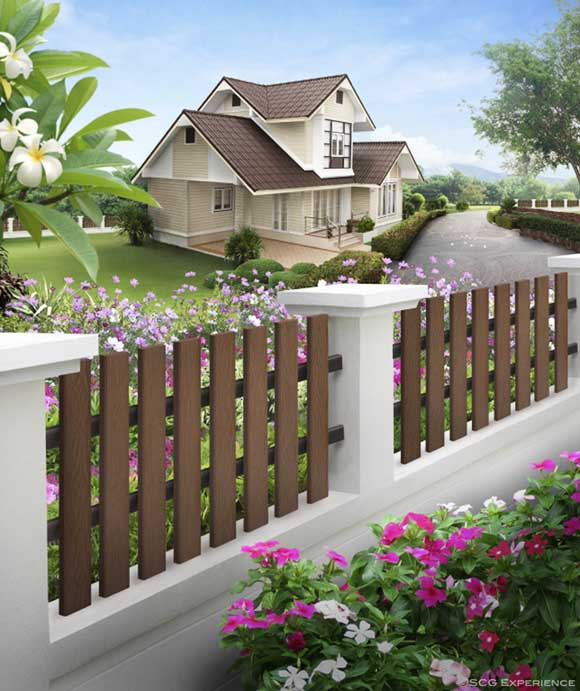 SCG artificial wood for fencing