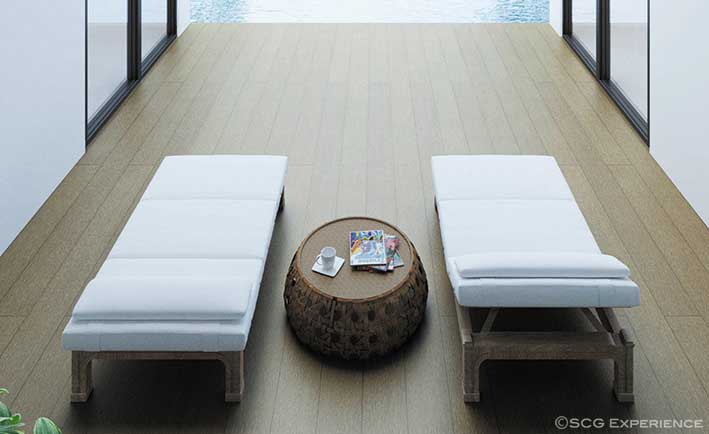 artificial wood for flooring