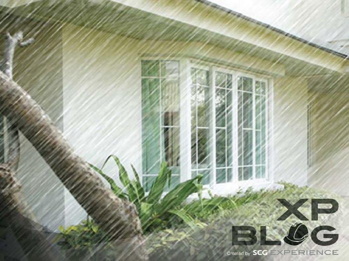 Handling the damp wall problem during rainy season