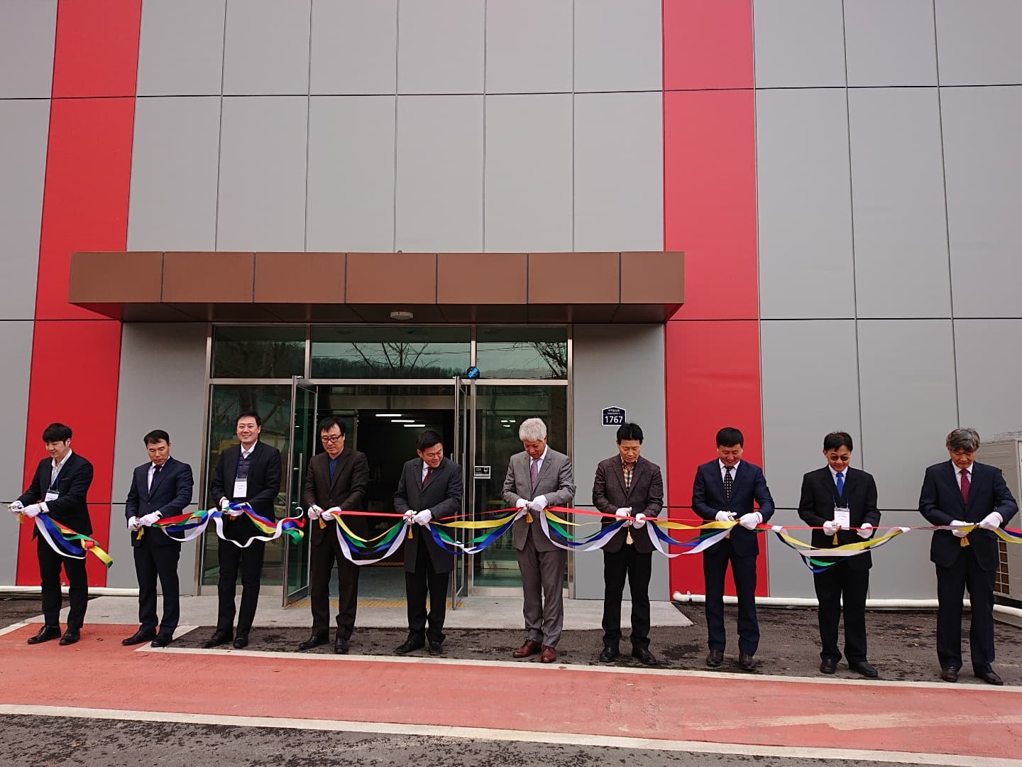 Opening SCG building materials dealer in South Korea