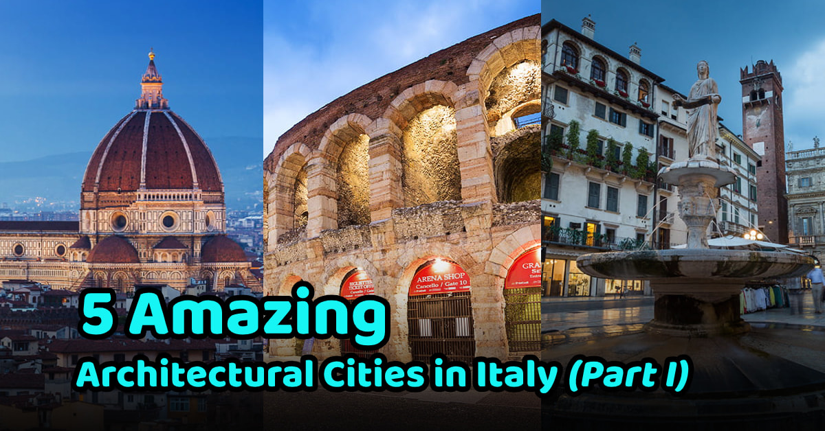 Architects must go city in Italy part 1