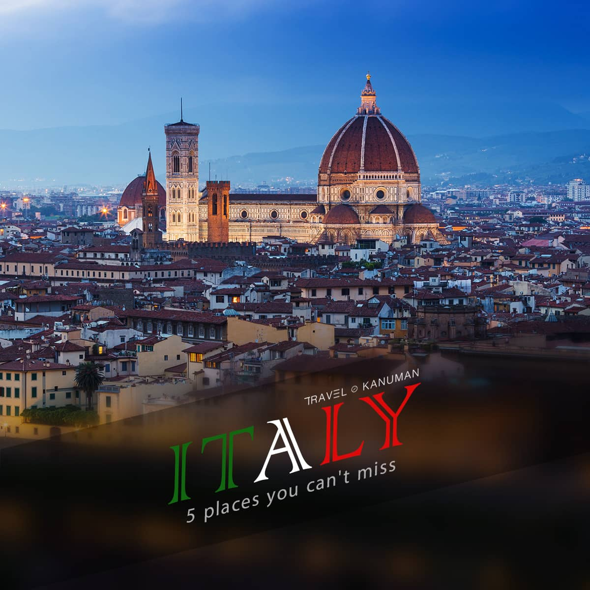 Place you cant miss in Italy