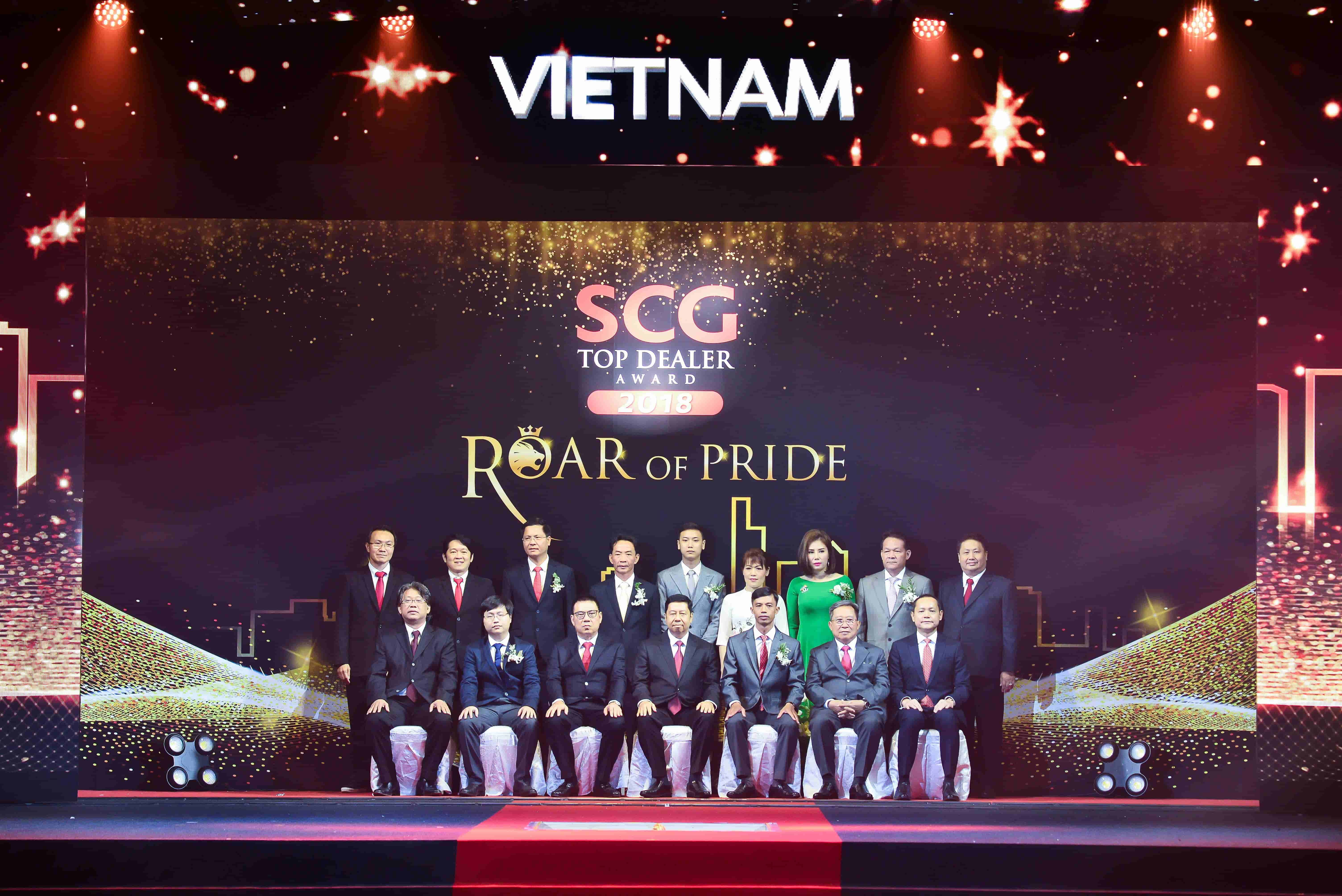 SCG Top Dealer in Vietnam