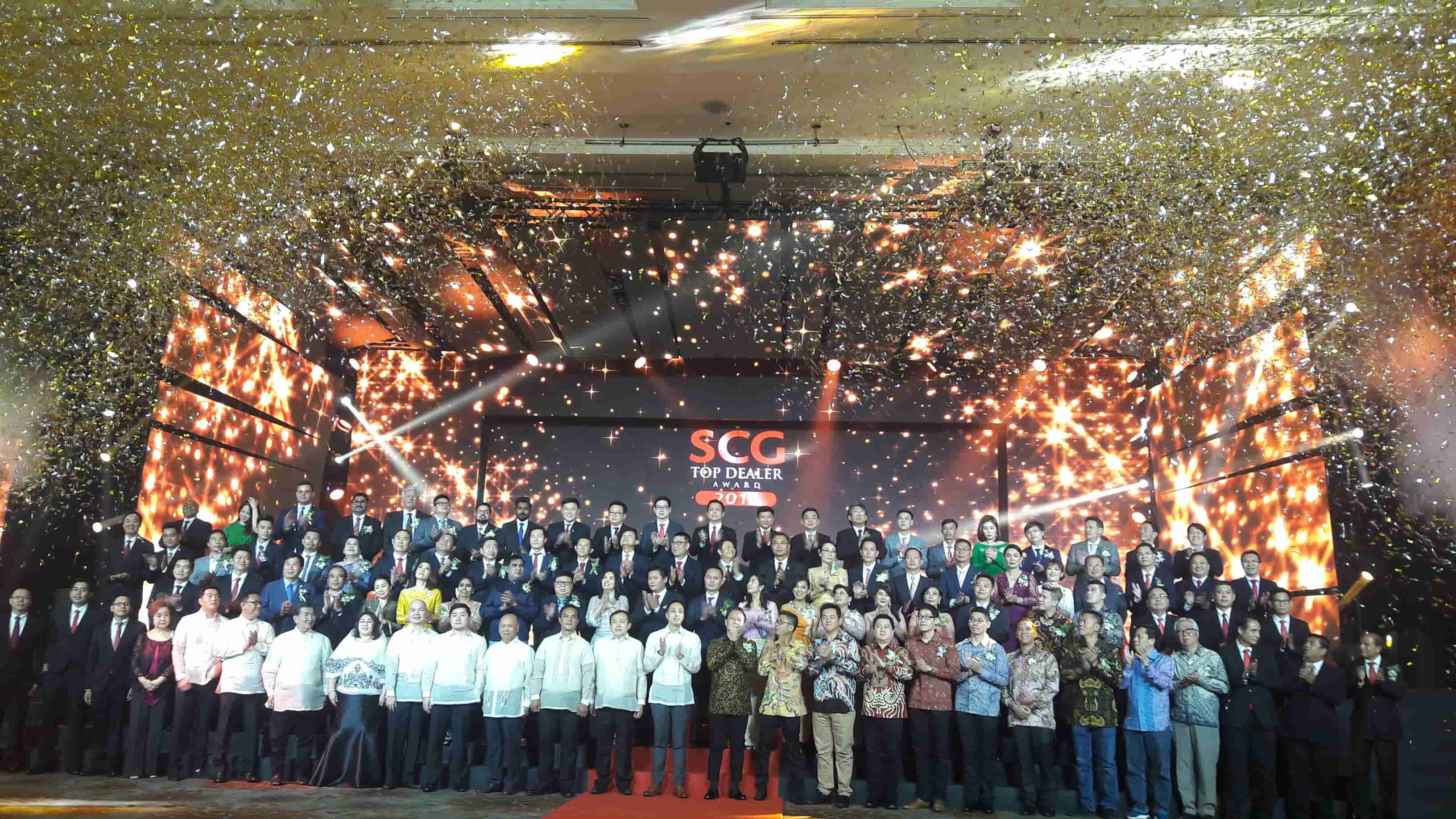 SCG Top dealer event 2018