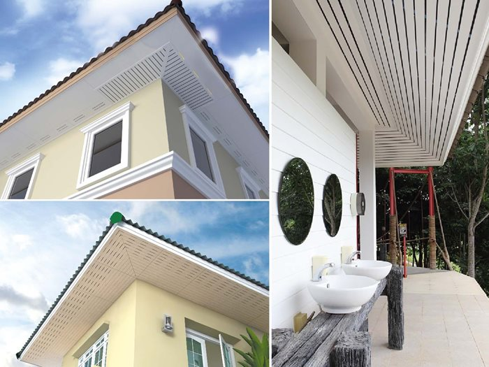 SCG Ventilation Board - material to reduce heat from roof