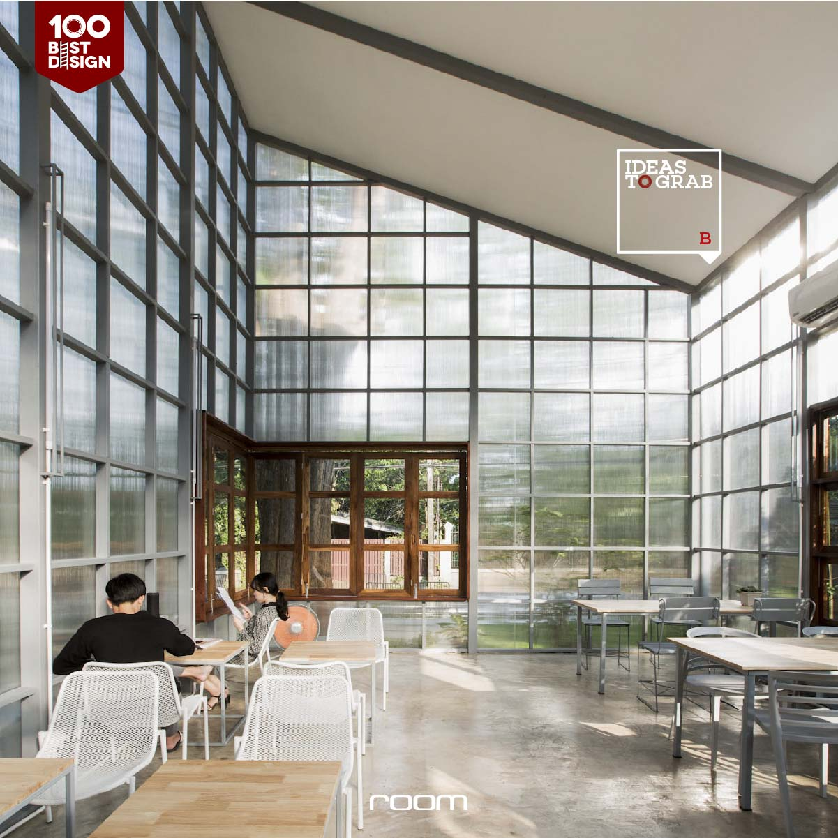Eco friendly Cafe design idea