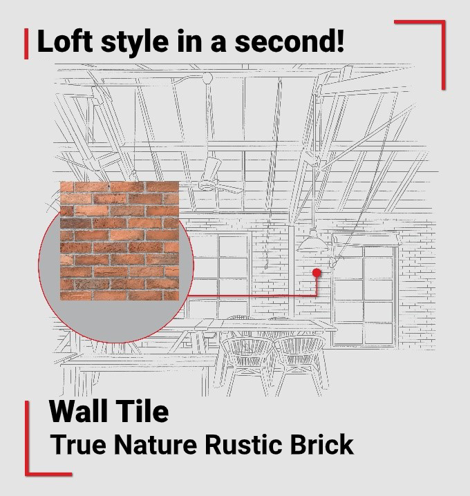 Loft Style Wall Tile