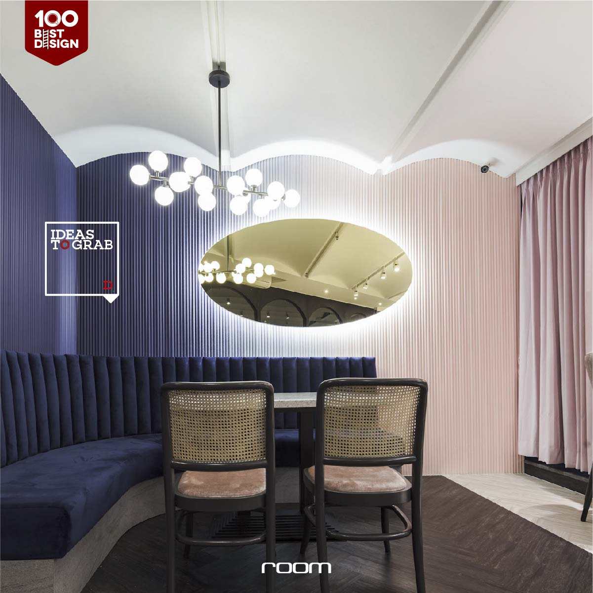 Pastel Color Cafe Decoration Idea - Wordenring