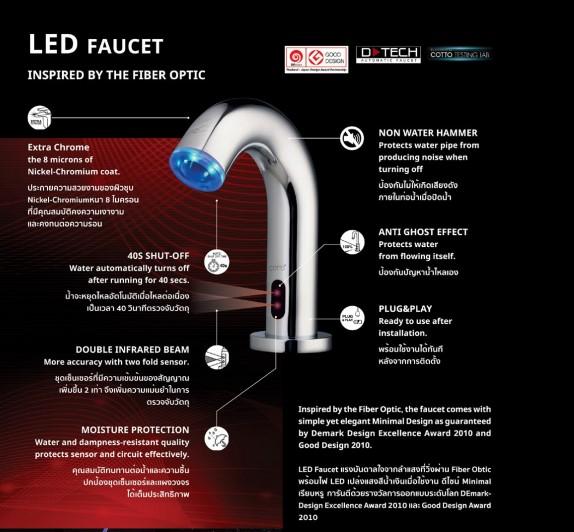 COTTO LED Faucet