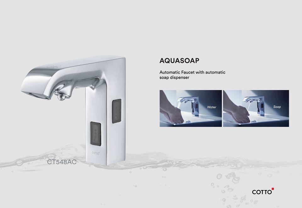 Cotto Aquasoap Atomatic Faucet CT548AC