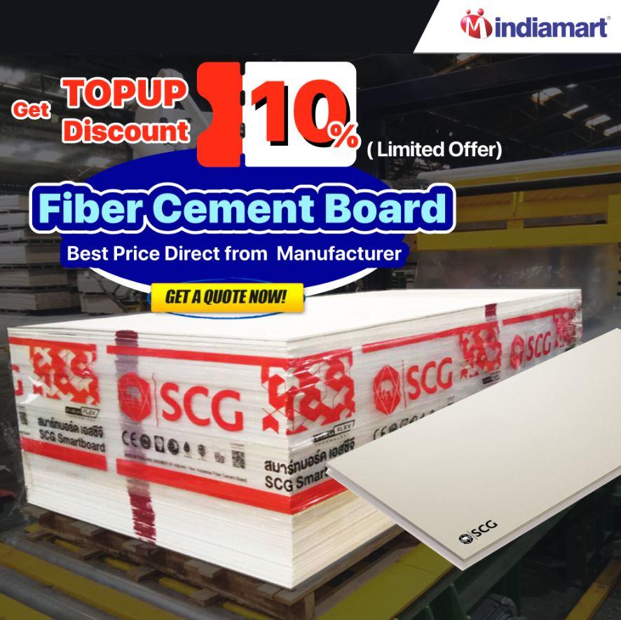 SCG Fiber Cement Board Price in Indiamart
