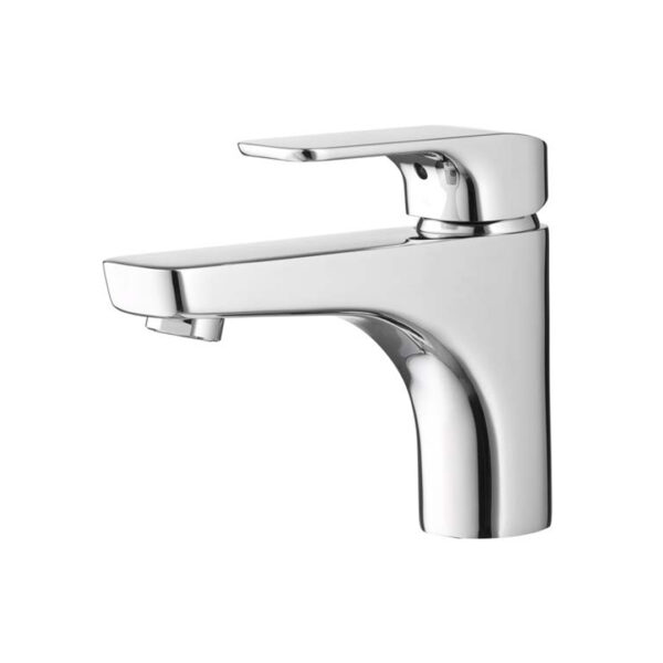 Cotto Lever Handle Basin Mixer Faucet With Pop-Up Waste And Inlet Hose, Scirocco Series - CT2142AE