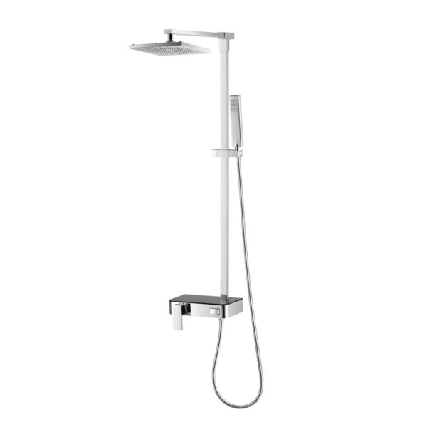 Cotto Lever Handle Exposed Shower Mixer With 3 Fn