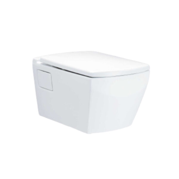 Cotto Tetragon Wall Hung Toilet with Conceal Tank - SC19877(F)