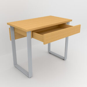 Rockworth Desk with Slim Loop Leg Beech finish