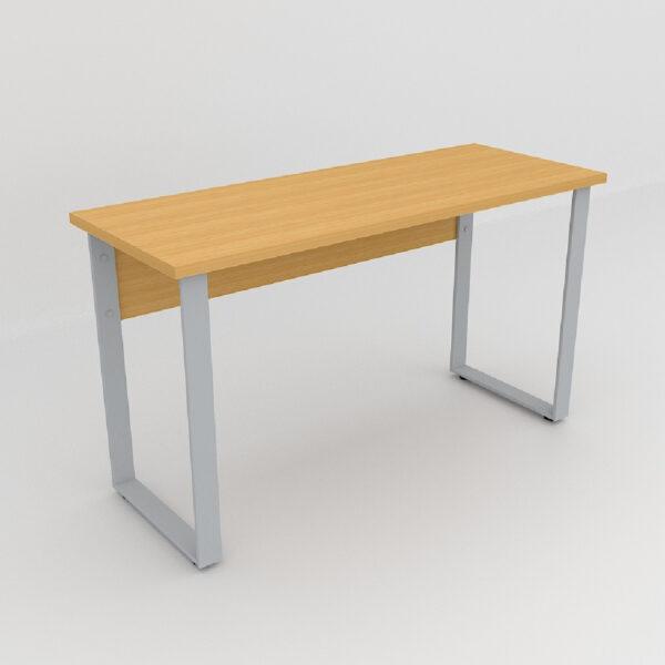 Rockworth Desk with Slim Loop Leg Beech finish