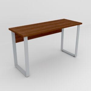 Rockworth Desk with Slim Loop Leg walnut finish