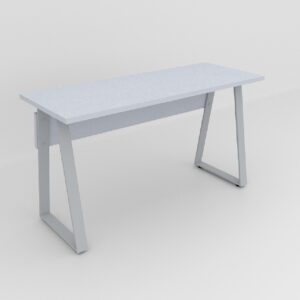 Rockworth Desk with Slim Taper Leg Grey finish