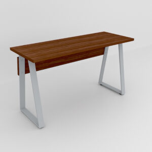 Rockworth Desk with Slim Taper Leg Walnut finish