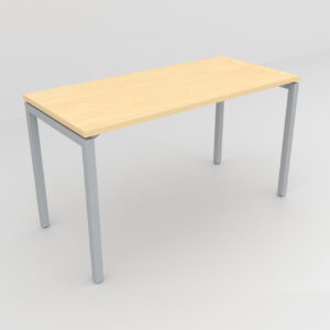 Rockworth Desk with Square Profile Stright Leg Maple Finish