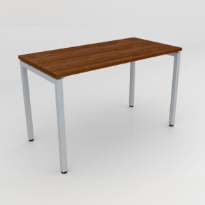 Rockworth Desk with Square Profile Stright Leg Walnut Finish