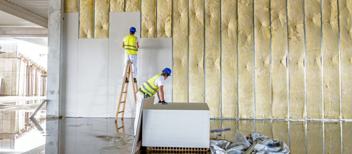 Drywall Installation - SCG Fiber Cement Board - Gypsum
